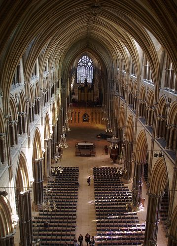 Lincoln Cathedral. I graduated here, it was like being at Hogwarts (maybe better actually)