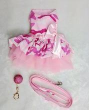 Розовый камуфляж платье
