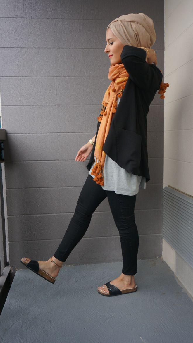 Dina Torkia - This style looks so relaxed and comfy. Perfect for a day out shopping or visiting family.