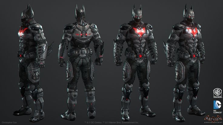 ArtStation - Batman: Arkham Knight Skin, Batman Beyond Game Model, Christopher Cao