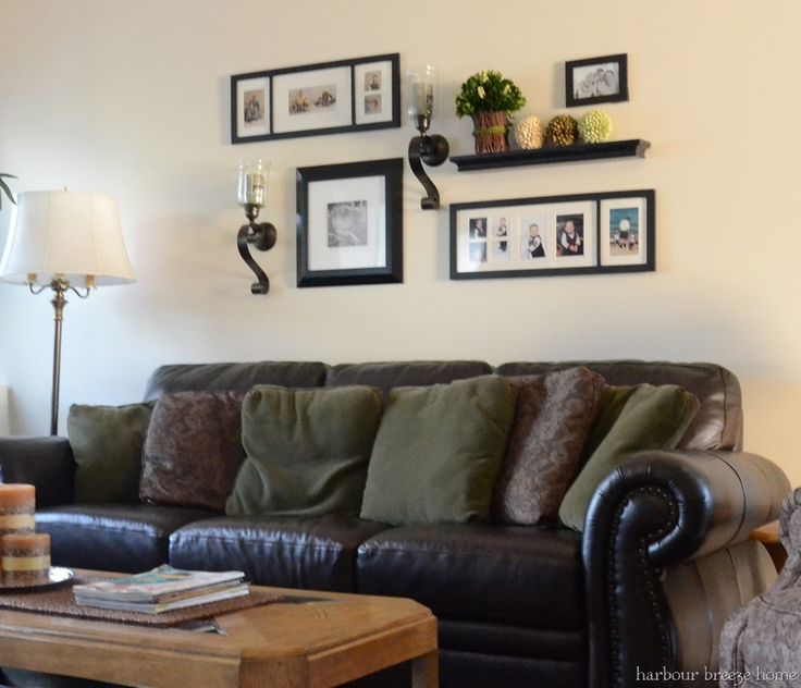 Wall Decor For Behind Couch : Best ideas about above couch on