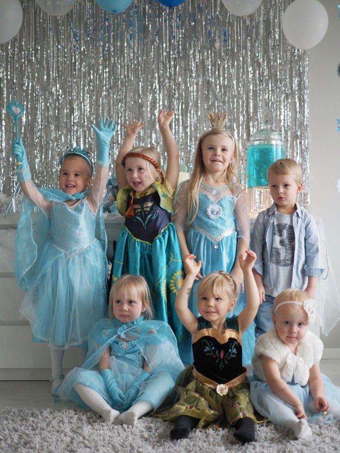 Frozen-juhlat lapsille | Hetkiä
