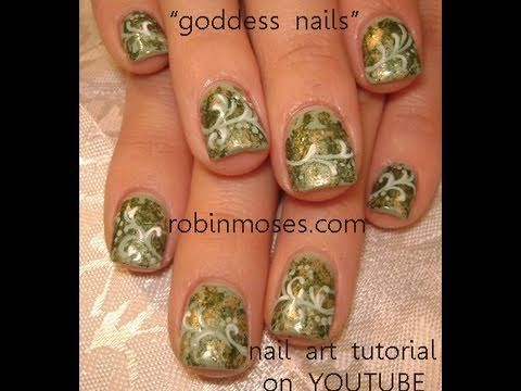 502 best nail art images on pinterest nail art tutorials design greek goddess nail art prinsesfo Image collections