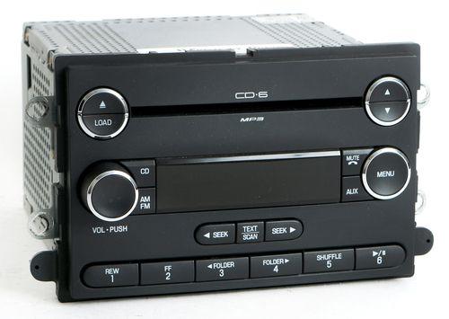 Ford Taurus Mercury Sable 08-09 Radio AM FM 6 Disc mp3 CD Player 8G1T-18C815-CA