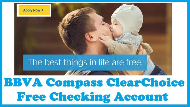 BBVA Compass ClearChoice Free Checking Account