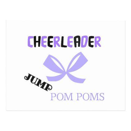 Cheerleader Dance Postcard - postcard post card postcards unique diy cyo customize personalize
