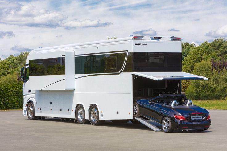 Esta espectacular autocaravana de $1 millón es lo más parecido a un yate de lujo sobre ruedas