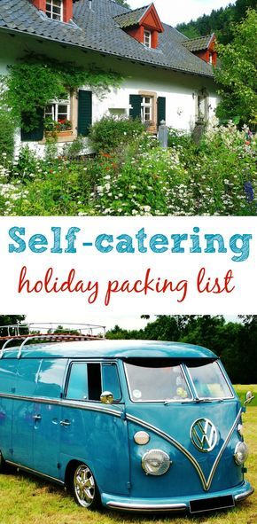 Self-catering holiday packing list - suitable for family and dog-friendly holidays in cottages, yurts, tents or camper vans