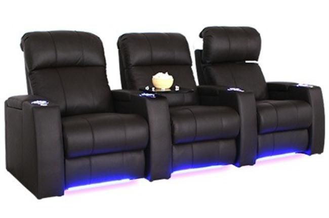 Sonoma Leather Gel Home Theatre Seating…