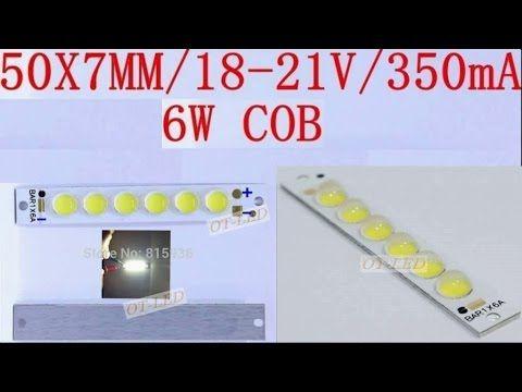 Светодиодные панели Cob 6Вт 18-21В 350mA
