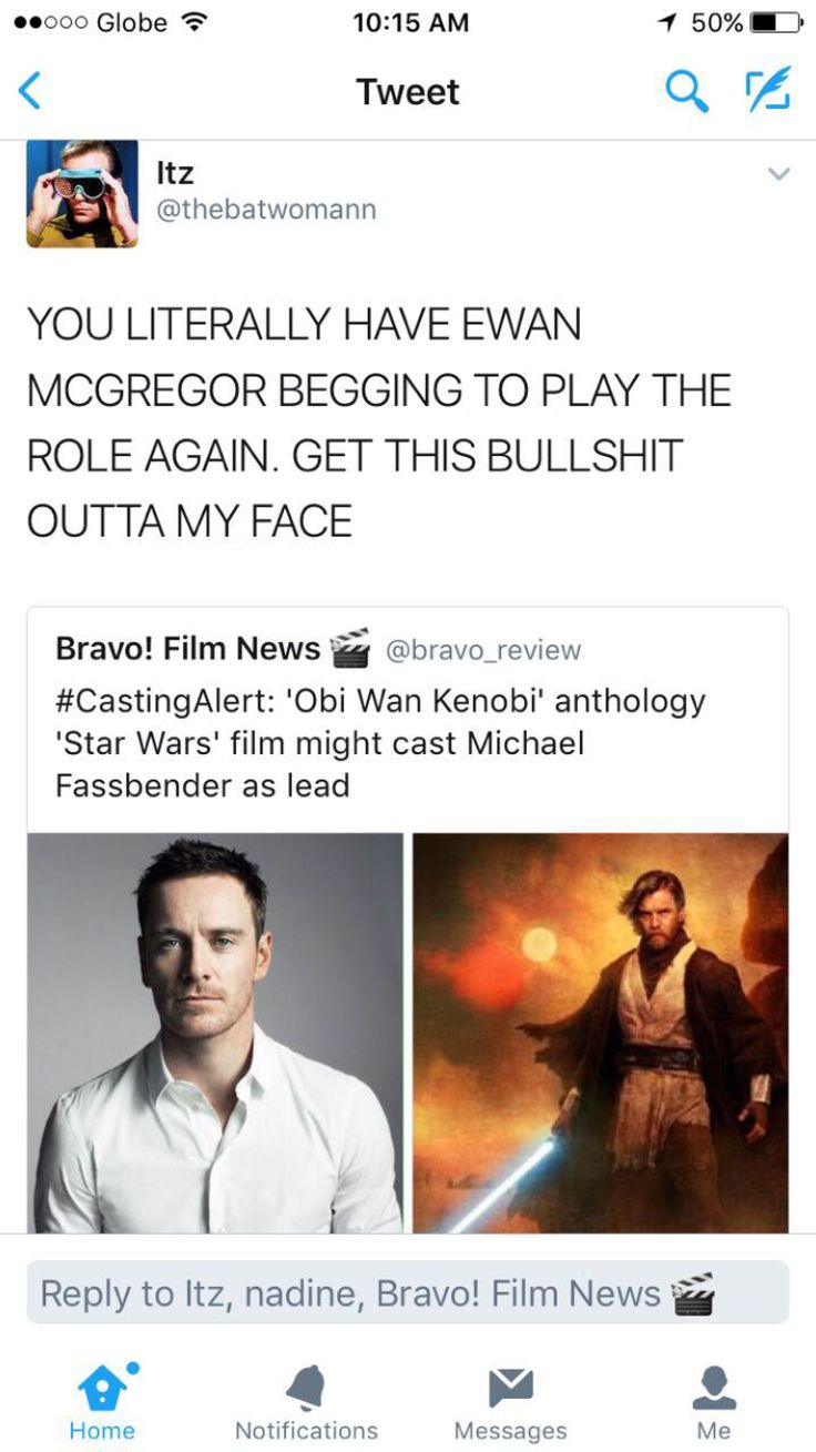 Wait what?? Are ya kidding me?? Ewan is the only Obi-Wan Kenobi, and he's just the right age to be playing the character, what the hell