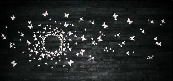 http://eleganceinwhite.blogspot.it/2013/05/butterfly-wall.html