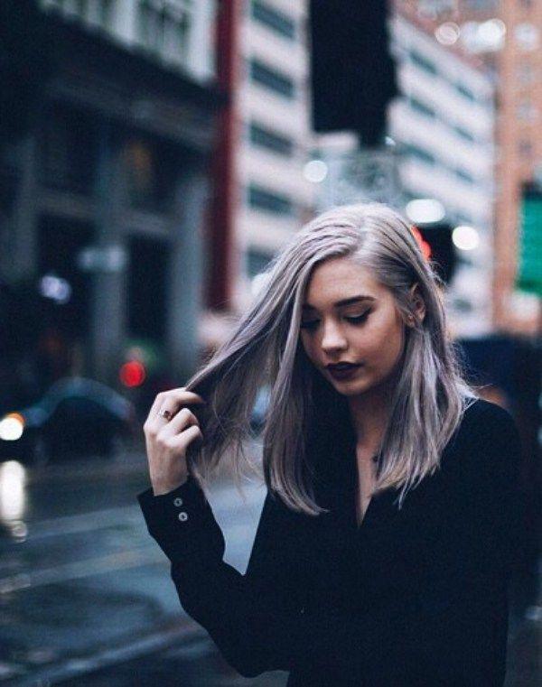 19+ Silber Haarfarbe Ideen in dieser Saison grau