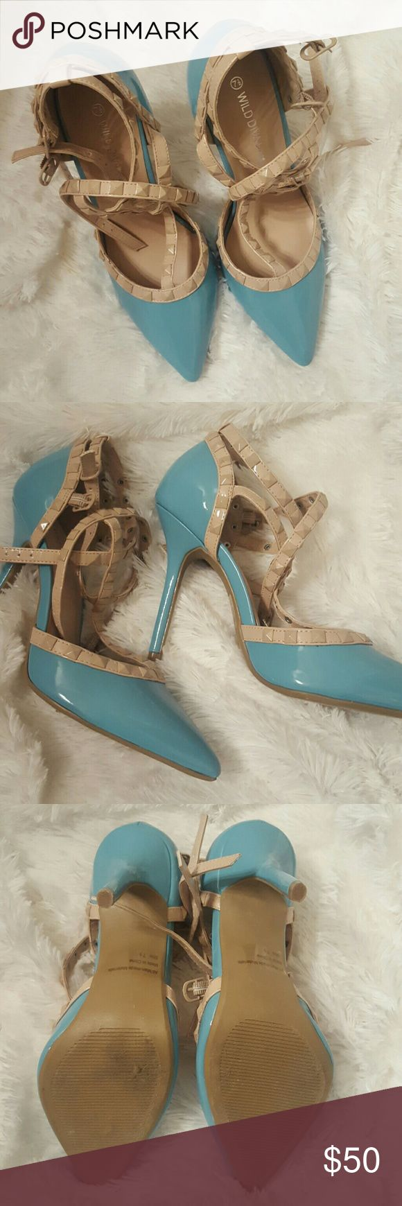 MOVING SALE BRAND NEW WILD Diva 7.5 Brand new wild dive (Valentino look alike) in 7.5 Valentino Shoes Heels