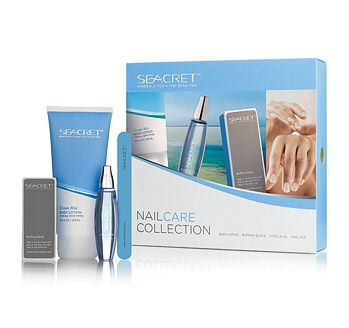 Looking for a special gift for your child's teacher this Christmas? How about Seacret's nail care collection? A touch of Dead Sea luxury- Body Lotion, nail file, cuticle oil and our famous Nail Buffer.