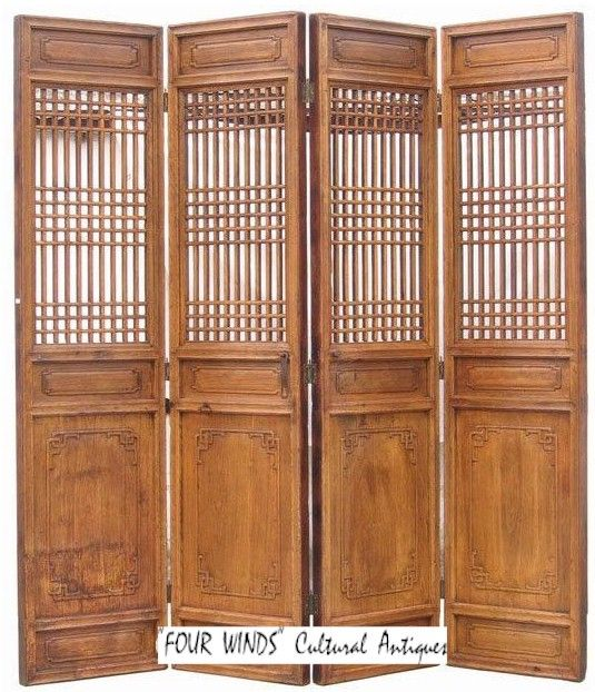chinese screens room dividers   ... Warehouse : 4-Panel Chinese Antique High - 105 Best Images About SCREENS On Pinterest Antiques, Room