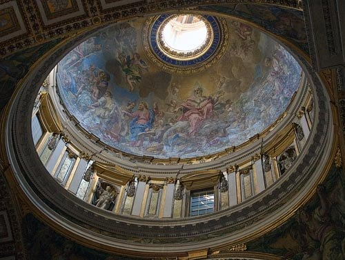 Inside St. Peter's Basilica - I could have spent a day inside. Beautiful doesn't begin to do it justice.: Basilica Pictures, Vatican City, Rome Italy, Peter O'Tool, St Peters Basilica, Peter Basilica, Beautiful Artworks, Stpeter, Vatican Cities