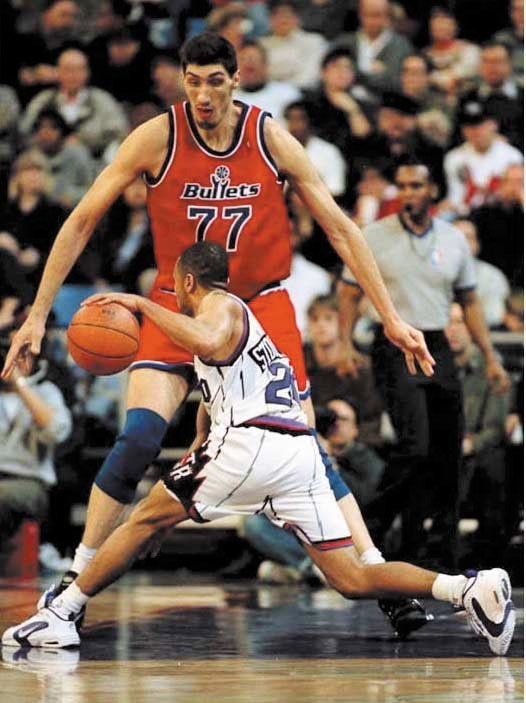 Basketball Players: Gheorghe Mureşan, Who Played For The Washington Bullets