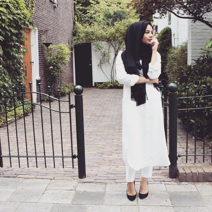 Pinned via Nuriyah O. Martinez | Ruba Zai: Outfit of the day Top and scarf from @asudemoda