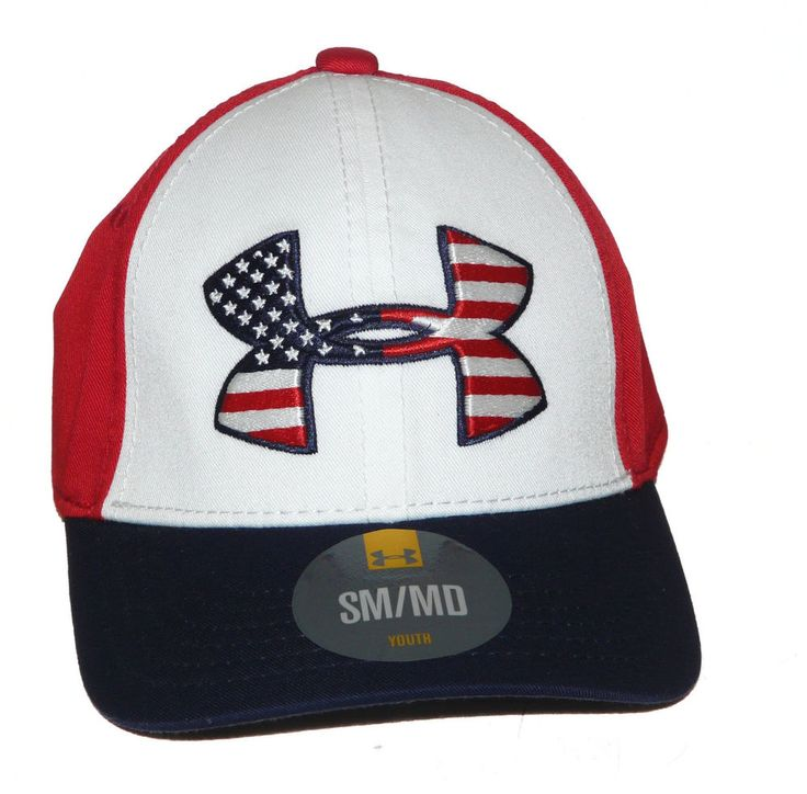 ... low price under armour youth small medium stars stripes patriotic red  white blue cap underarmour baseballcap ... 8347bd18c8a