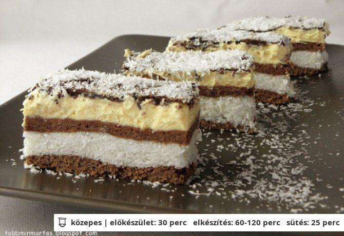 Kókuszos szelet Besameltől | NOSALTY – receptek képekkel