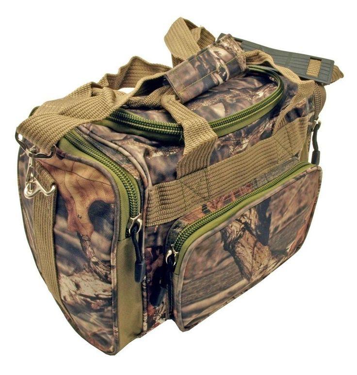 "New 17"" Mossy Oak Tactical Gun Range Bag Carry Duty Bag Duffle Bag #MossyOak"