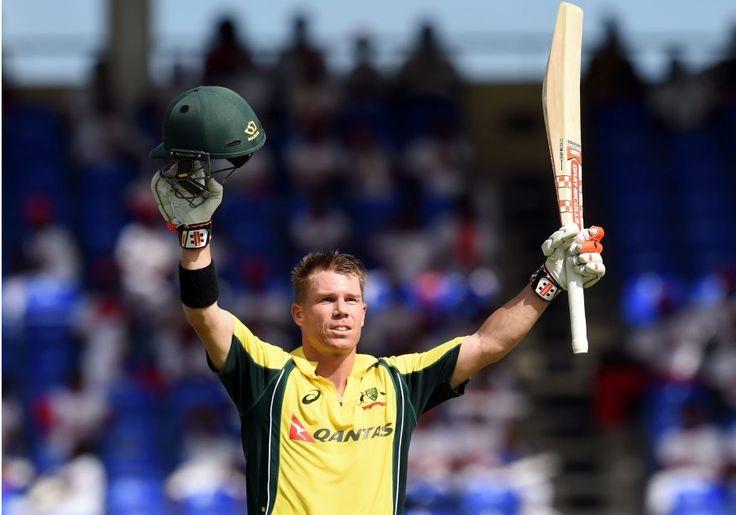 Australia vs South Africa David waner 100 helped to win #AUS against #SA #AUSvSA #SAvAUS #ICC #Crikcetnews