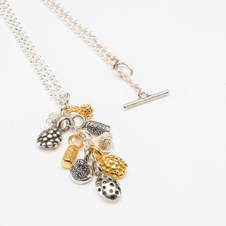 Microcluster Pendant Necklace- Catherine Hills Jewellery