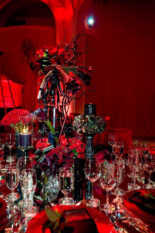 creative halloween wedding centerpiece ideas for autumn - Halloween Centerpieces Wedding
