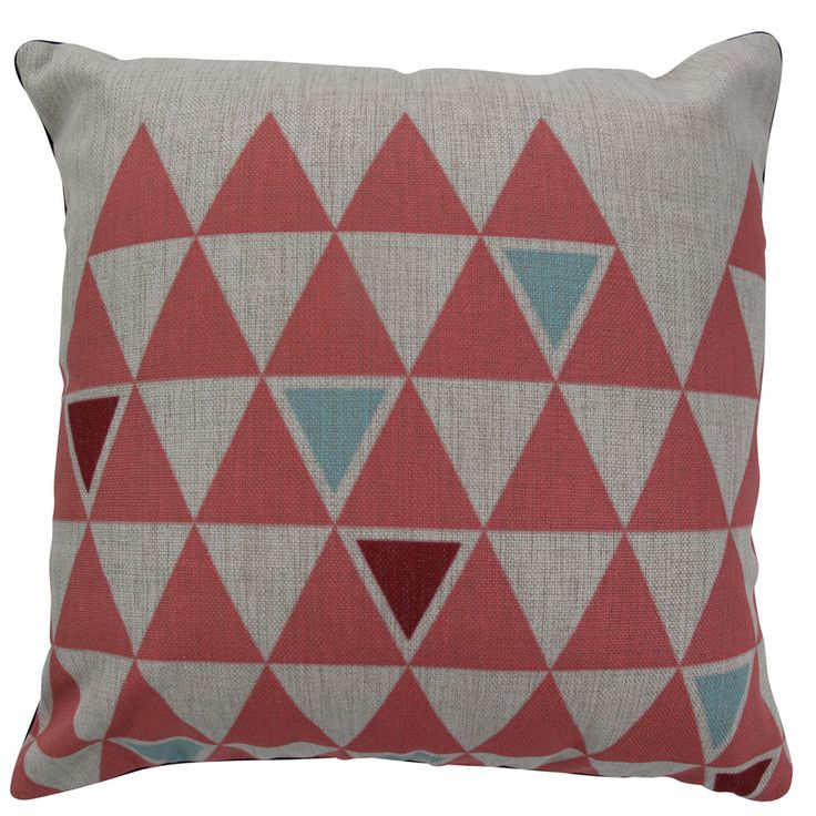 Pink Triangle Cushion | Options Available by Hardwick & Cesko on POP.COM.AU
