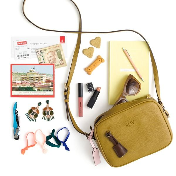 From dog treats to a Max the Monster key chain, here's what three women at J.Crew HQ are carrying in—and on—our new Signet bags. See more at jcrew.com/blog.
