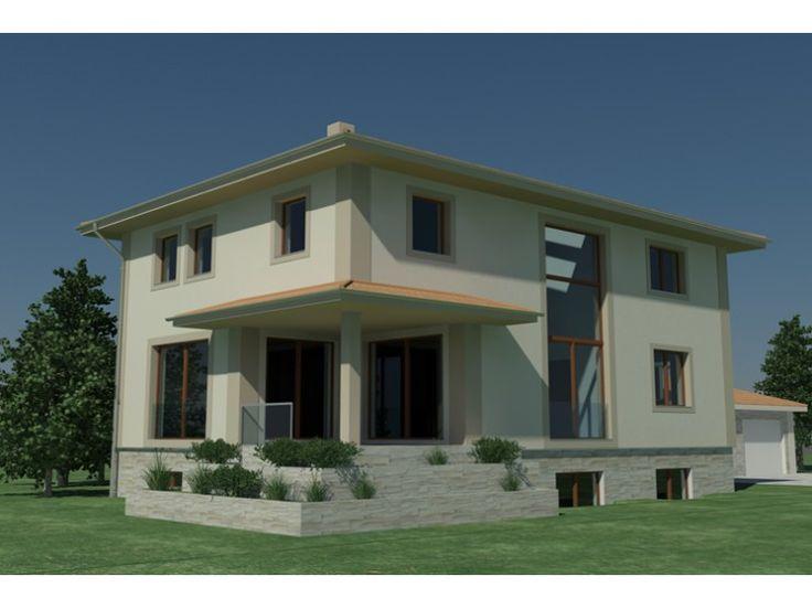 390 besten energiesparh user bilder auf pinterest balkon for Stadtvilla flachdach