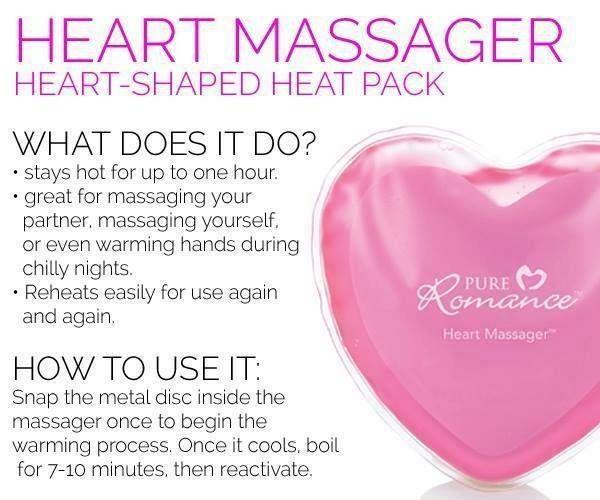 Pure Romance Heart Massager Prbystaceydick Pinterest