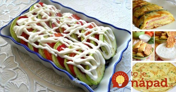 7 najlepších receptov z cukety Všetky recepty nájdete tu: http://tojenapad.dobrenoviny.sk/7-najlepsich-receptov-cukety/  #zucchini #recipe #tasty #vegetable #food #thebest #easy #summer