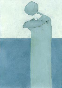 "Saatchi Art Artist Evangelos Papapostolou; Painting, ""lullaby"" #art"