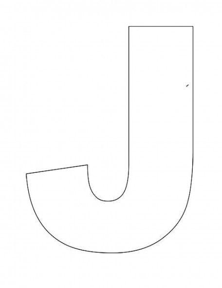 Letter D Template Preschool