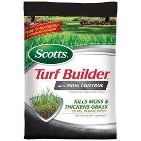Scotts Turf Builder 25-Lb 5000-Sq Ft 23-0-3  Fertilizer With Moss Control 38505