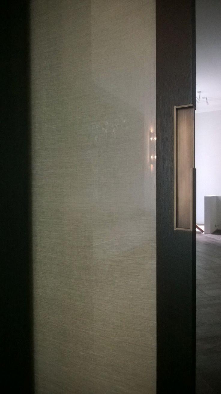 Vetro stratificato/laminato con tessuto di lino interno