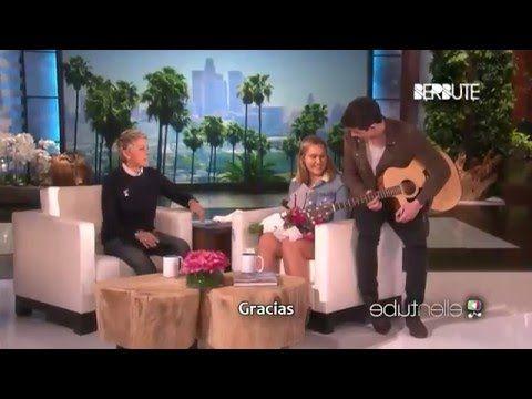 Shawn Mendes pide perdón a Ellen y soprende a una fan (Subtitulado al es...