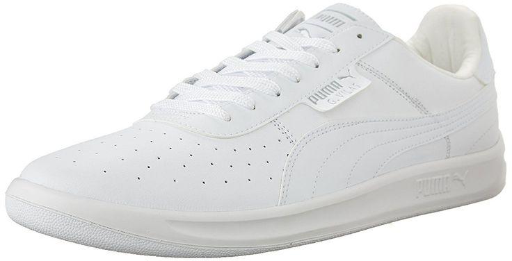PUMA Mens G. Vilas L2 SneakerWhite/Metallic Silver11.5 D US