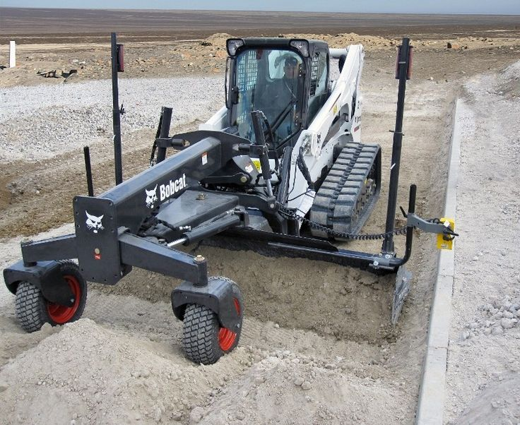 Bobcat is now offering a new wider range of grading solutions based around the company's compact loaders and grader attachments.