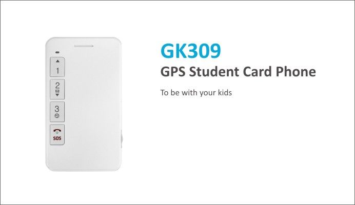 GPS Safety Card Phone GK309 - Personal Series