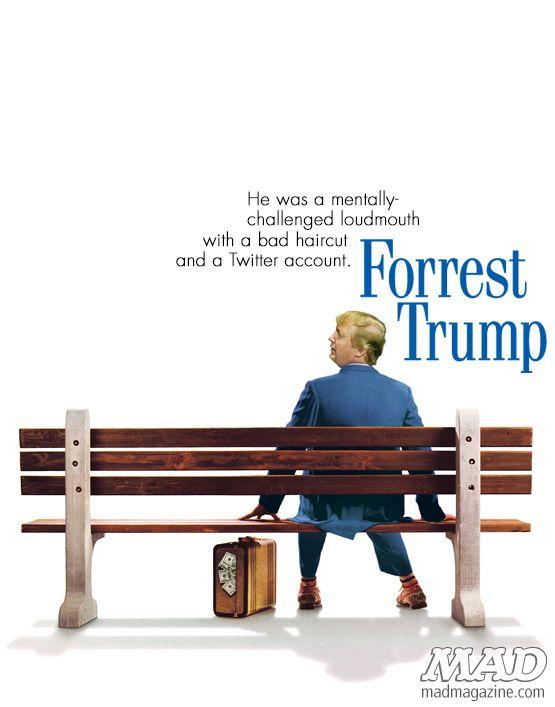 """""""I just felt like running"""" - Forrest Trump"""