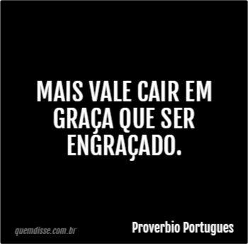 Frase de Proverbio Portugues