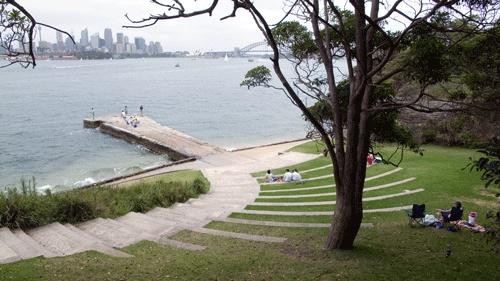 Wharf Area Amphitheatre, Bradley's Head, Sydney NSW