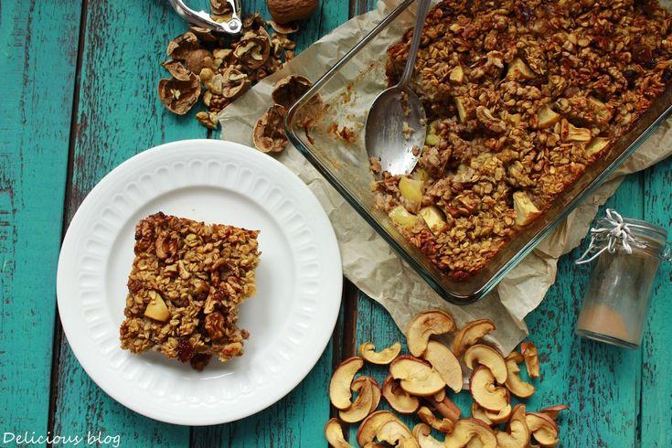 Delicious blog: Pečená jablečná kaše