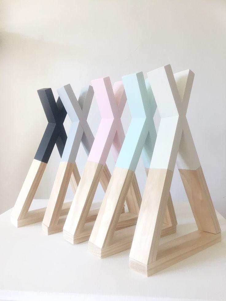 how to make a teepee shelf