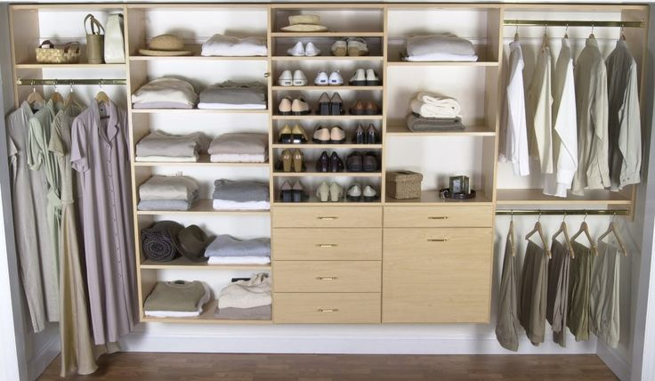 Image of: Wooden Closet Organizers Cheap                                                                                                                                                     More