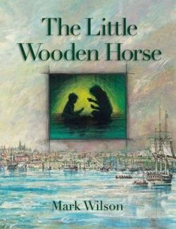 Little Wooden Horse. The story tells of two convict children who were deported to Botany Bay on the First Fleet. It tells of their trip and the circumstances that lead to their deportation.