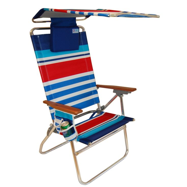 Highboy Beach Chair With Canopy